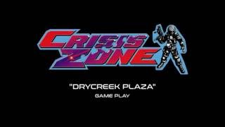 """Namco Crisis Zone - """"Drycreek Plaza"""" Game Play (Projected)"""