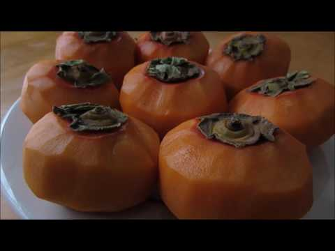 How to make Dried Persimmons || 꽂감 만들기