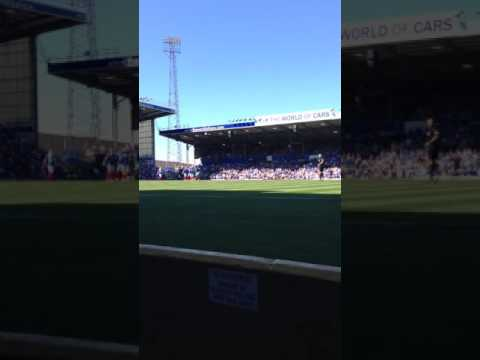 Portsmouth FC match song