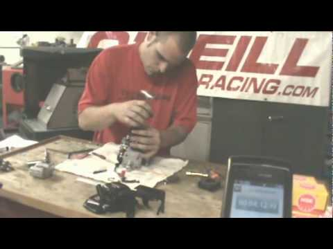 Dan at Oneill Brothers Racing 6 Minute 4 Second Zenoah G270RC Engine Rebuild
