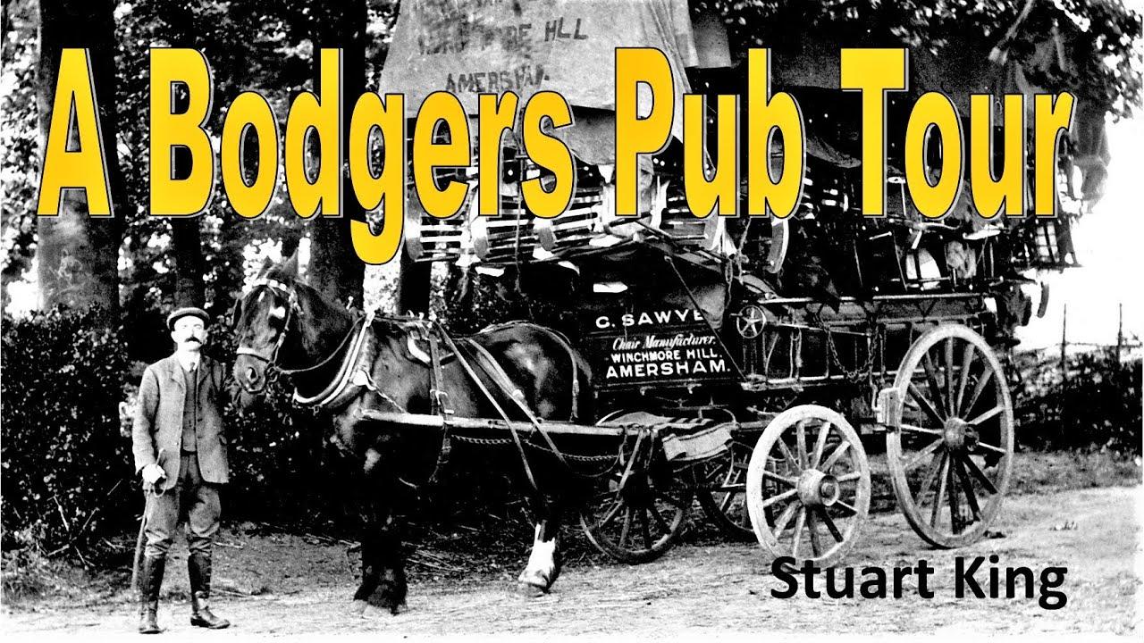 Chairmakers pub tour Stuart king April 2021