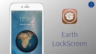 ►►Earth LockScreen Tweak iOS 8 │ Une belle animation sur votre LockScreen [FR][HD]◄◄