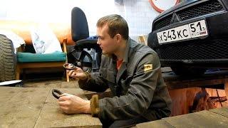 Сидим в гараже. Mitsubishi Lancer X. Ремонт выхлопной системы. + новости о Пассатике.