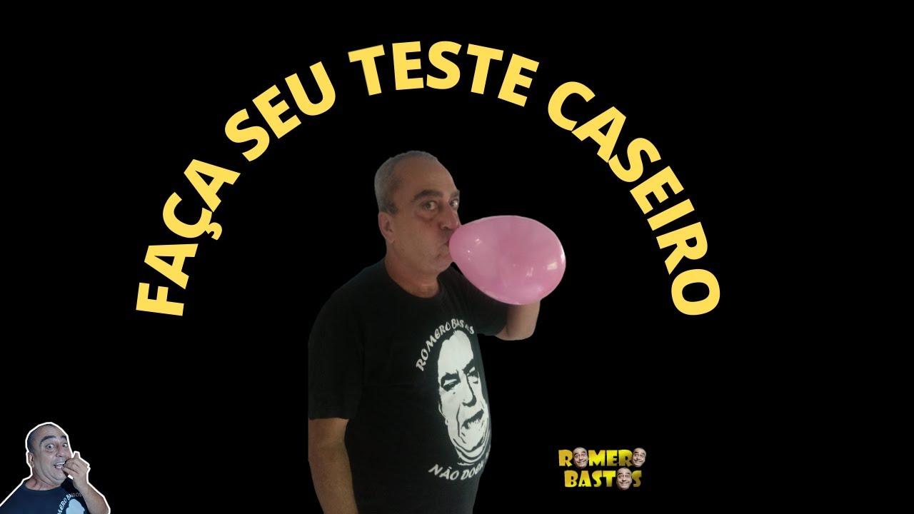 FAÇA SEU TESTE CASEIRO,..........