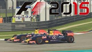 FORMEL 1 2015 - Red Bull Hammerduell in Malaysia! German Gameplay Deutsch [Fanatec CSW]