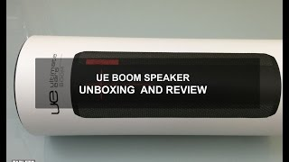 UE Boom Speaker: Unboxing and Review with Software Update