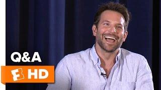 Bradley Cooper Chats 'Burnt' At Screen Actors Guild Q&A (2015) HD Video