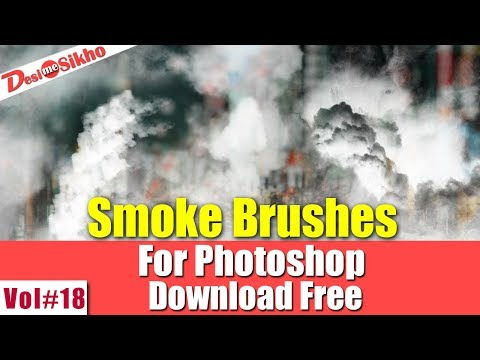 Smoke Brushes Effect For Photoshop Download Free Vol#18 [desimesikho] 2018