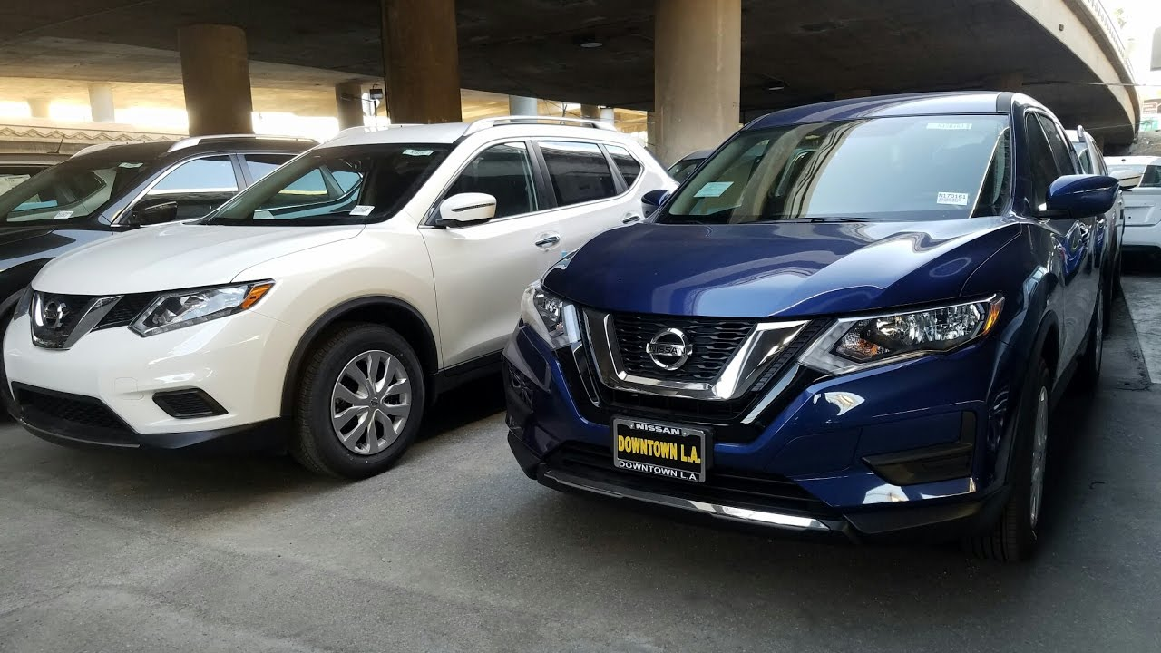 2017 Nissan Rogue Vs 2016 Nissan Rogue   In Depth Comparison   YouTube
