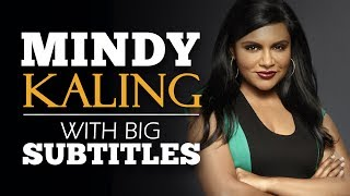 LEARN ENGLISH | MINDY KALING: Why Not Me? (English Subtitles)