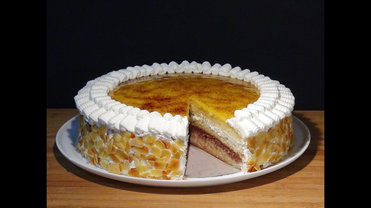 Receta tarta san marcos sin lactosa recetas de cocina paso a paso tutorial youtube - Cocina para todos ...