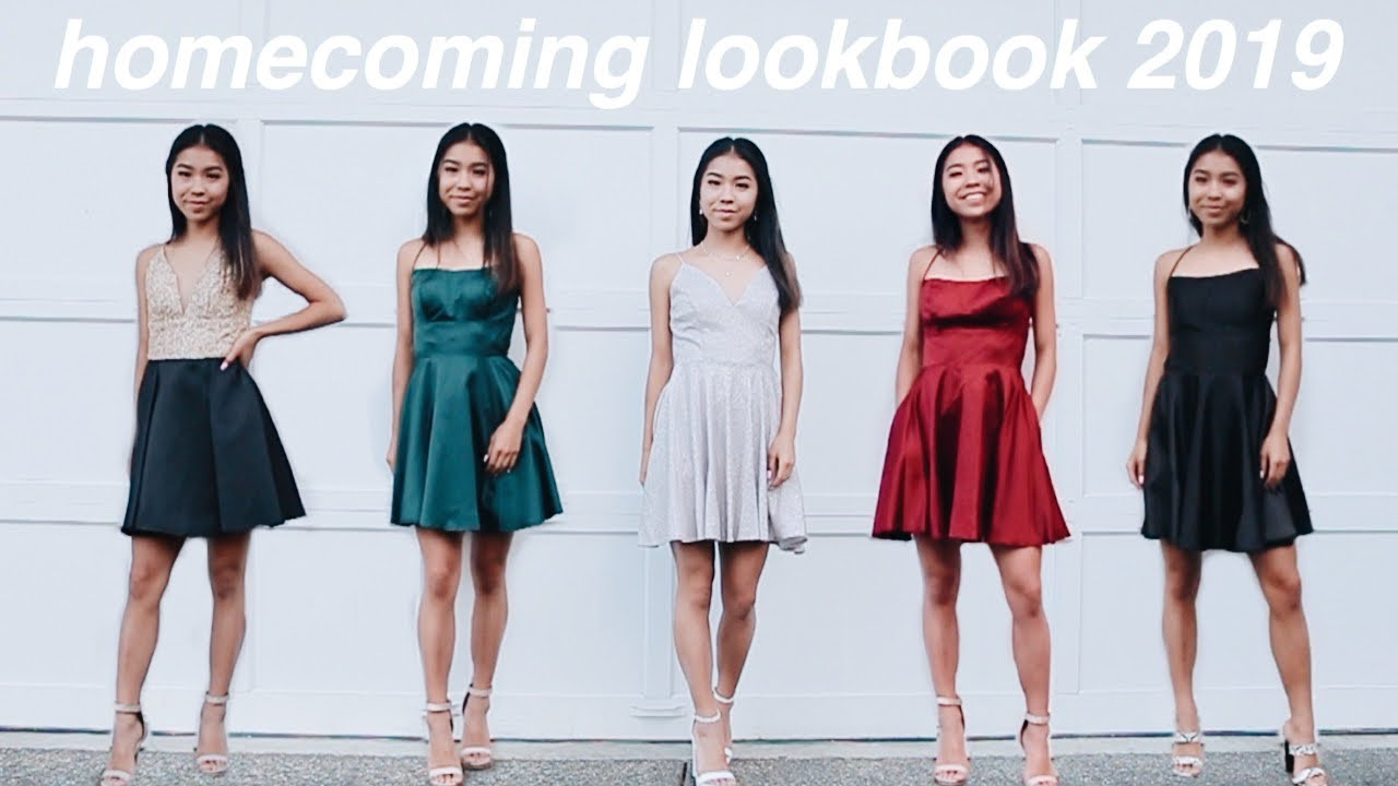 HOMECOMING LOOKBOOK 2019 // Hair, makeup + outfit ideas! 9