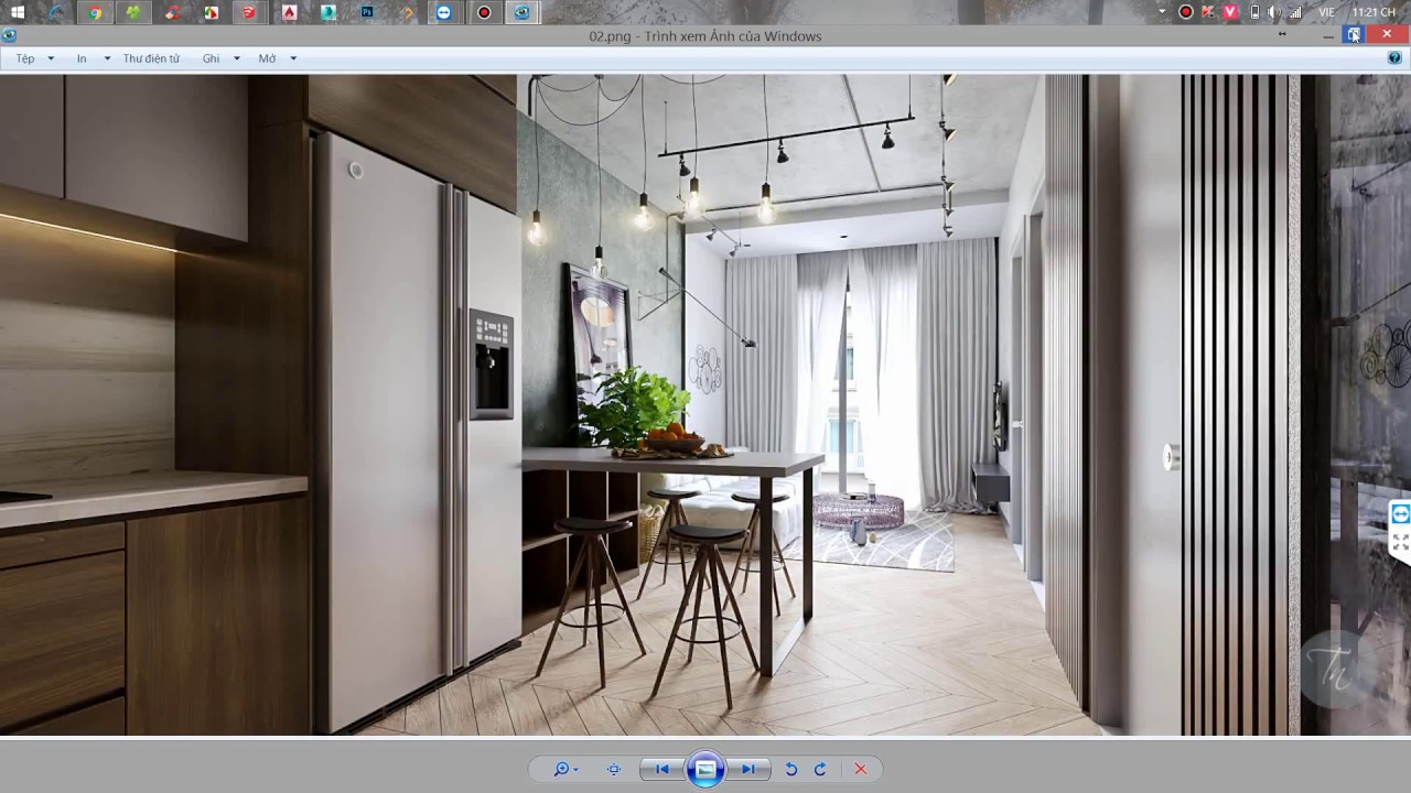 hướng dẫn render nội thất với vray 3 6 for sketchup : LightTube