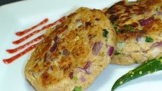 How to make Fish Cutlets - Indian Appetizer Video Recipe