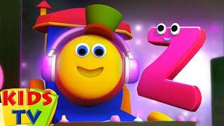 Bob si Kereta Lagu | Video pendidikan | Fonik huruf Z | Kids Tv Indonesia | Bayi sajak | Animasi