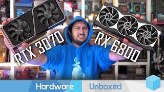 Radeon RX 6800 vs. GeForce RTX 3070, 40 Game Benchmark: 1080p, 1440p & 4K