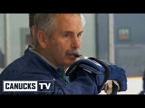 All Access - Coach Willie Desjardins mic'd at practice