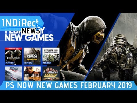 10 Games Join PS Now For February 2019 - INDiRect News - YouTube