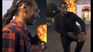 Diddy Drunk AF Tries To Crip Walk For Snoop Dogg