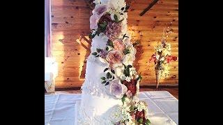 видео свадебный торт пять ярусов