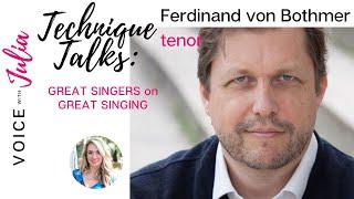Ferdinand von Bothmer discusses the tenor registration and repertoire