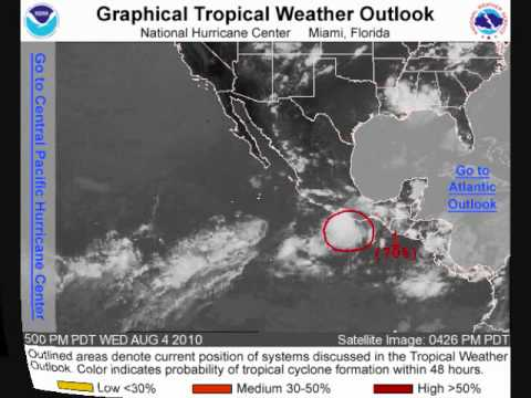 TROPICAL UPDATE INVEST 99 IN THE Eastern Pacific