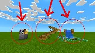 3 MELHORES TRUQUES SEM MODS PARA MINECRAFT PE 0.16.0 (Minecraft Pocket Edition)