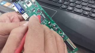 INSTALLATION OF V59 UNIVERSAL LCD TELEVISION CONTROLLER BOARD.
