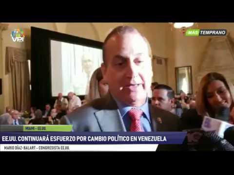 Miami - Senador Díaz Balart aseveró que presión sobre Maduro continuará - VPItv