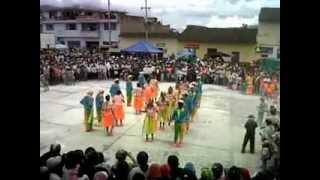 Danza Comparsa Alegria y colorido del Carnaval 2012 -  Funes Nariño