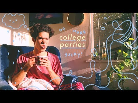 i went to my first college party (it sucked)