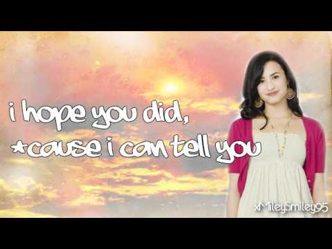 Demi Lovato - Different Summers (Camp Rock 2) with lyrics