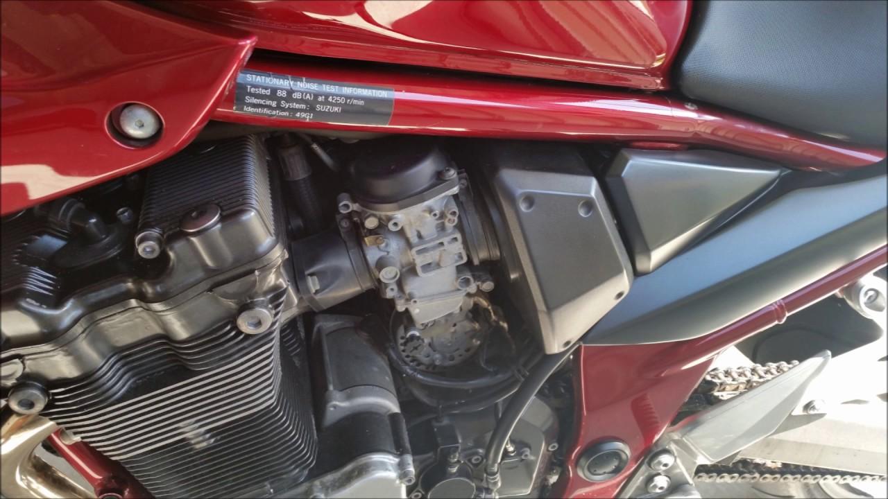 Suzuki Bandit GSF1200S Carby Issues
