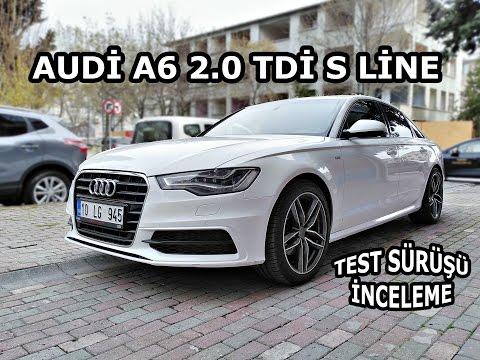 Audi A6 2.0 Tdi S LİNE | İnceleme & Test Sürüşü | Kullanıcı Yorumları