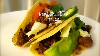 Hard Shell Beef Tacos Recipe