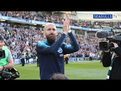 BRUNO FAREWELL AND BHAFC LAP OF APPRECIATION