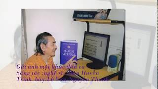 Gửi anh một khúc dân ca Ca sĩ Lê Vân & Nguyễn Thanh thể hiện
