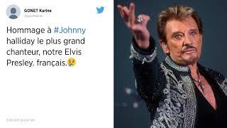 Hommage sur Twitter : Johnny Hallyday, monument de la chanson française, est mort...
