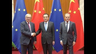 China, EU Agree to Promote Multilateralism, Free Trade