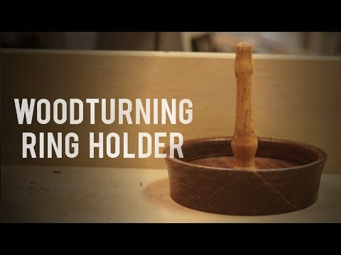 Woodturning Ring Holder - A Perfect Gift - Miller Woodcraft