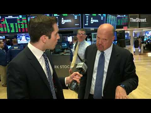 Jim Cramer on Equifax, Wells Fargo, Federal Reserve, FedEx, Adobe and Toshiba