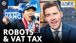 How To TAX ROBOTS: VAT vs WEALTH TAX: Knee Of The Curve with Emmett Short