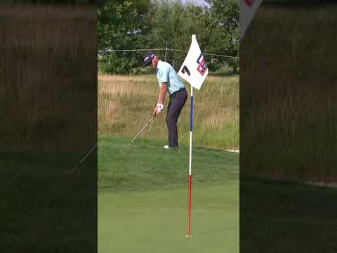 Pro golfer misses the ball while leading tournament! 😳
