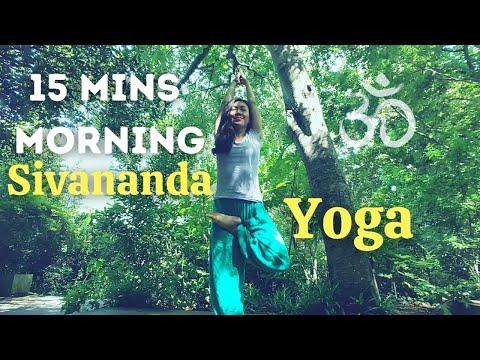 15 MINS MORNING | SIVANANDA YOGA