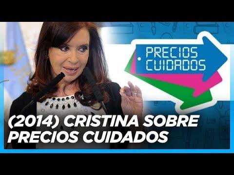Cristina sobre Precios Cuidados (Archivo 2014)