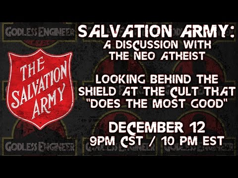 Salvation Army: Discussion with TheNeoAtheist