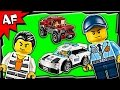 Lego City Police Pursuit 60128 Stop Motion Build Review