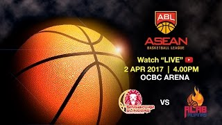 Singapore Slingers vs Alab Pilipinas | ASEAN Basketball League 2016-2017 semi-final playoff Game 1