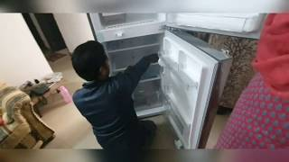 LG 260 L 4 Star Frost Free Double Door Refrigerator Unboxing