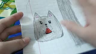 Cách làm squishy bé mèo siêu đáng yêu _Ngọc Thủy Channel